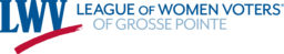 Logo for League of Women Voters of Grosse Pointe